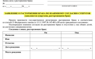 Документы для бракоразводного процесса через суд