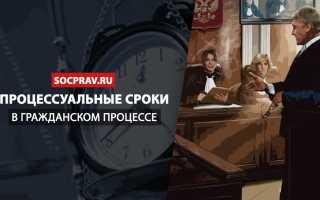 Последствия пропуска процессуальных сроков в гражданском процессе