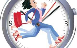 Чем определяется продолжительность рабочего времени в организации