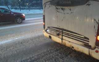 Сломался автобус: возврат денег