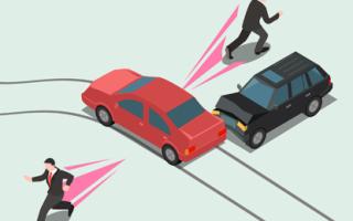 Водитель скрылся с места ДТП: ответственность