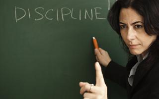 Формы дисциплинарной ответственности